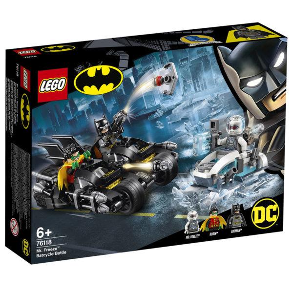 Lego 76118 Super Heroes Batman Битка с Мистър Фрийз