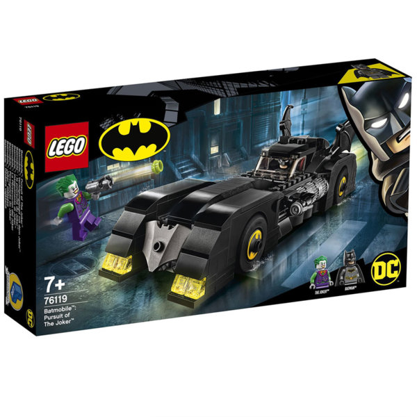 Lego 76119 Super Heroes Batman Батмобил: Преследване на Жокера