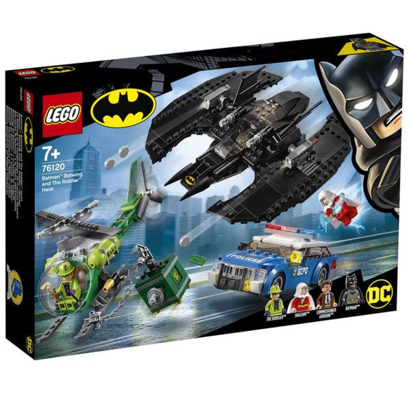 Lego 76120 Super Heroes Batman Батуинг и кражба с Гатанката