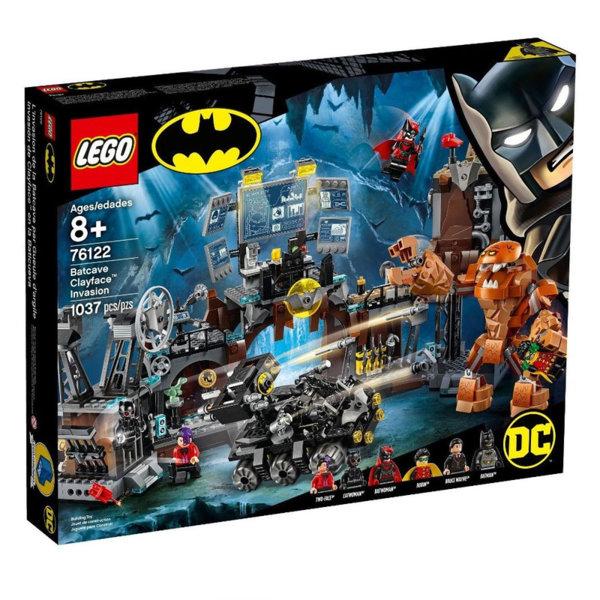 Lego 76122 Super Heroes Batman Глиненото лице напада пещерата на прилепа
