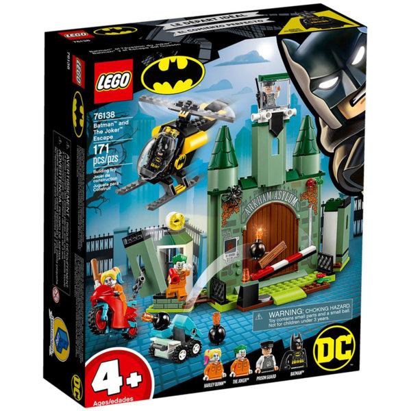Lego 76138 Super Heroes Batman Бягство с Батман и Жокера