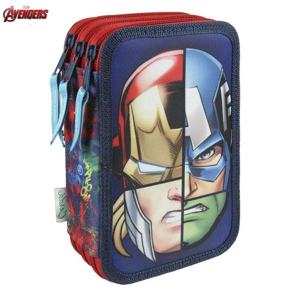 Marvel Avengers Ученически несесер с 3 ципа, зареден Отмъстителите 2700000224