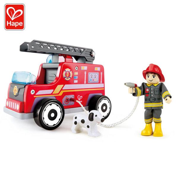 Hape Дървена пожарна кола H3024