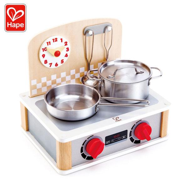 Hape Дървена мини кухня 2в1 H3151