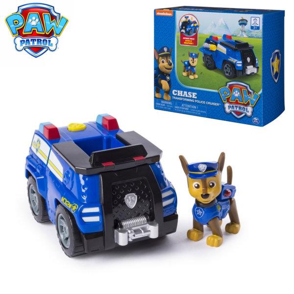 Paw Patrol Трансформираща се полицейска кола на Чейс 6045897