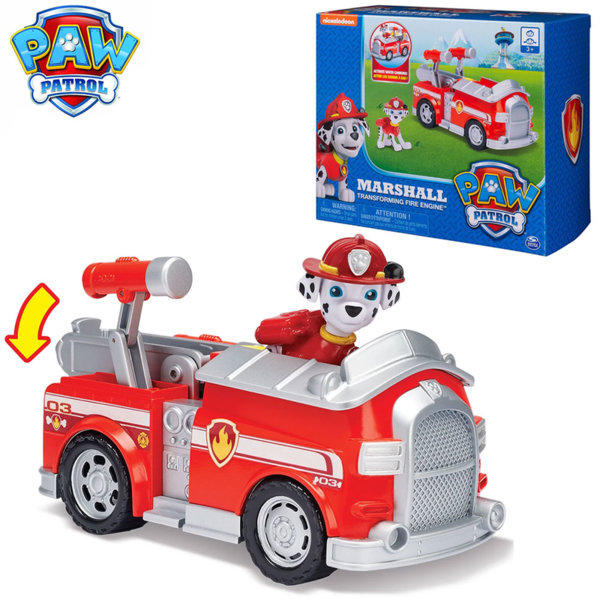 Paw Patrol Трансформираща се пожарна кола на Маршал 6045898