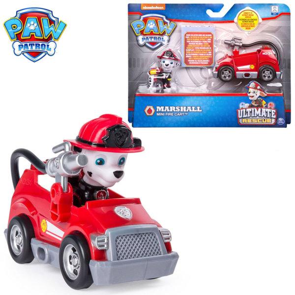 Paw Patrol Ultimate Rescue Маршал с мини пожарна кола 6044194