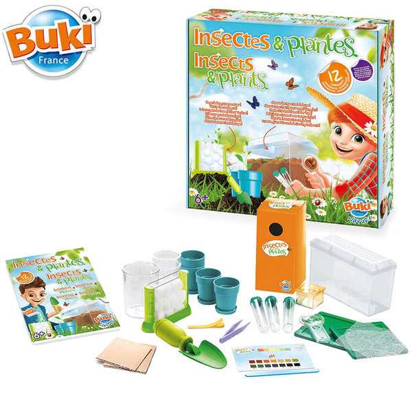 Buki Nature Комплект насекоми и растения 2047
