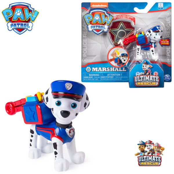 Paw Patrol Кученцето Маршал със значка за детето 6046672