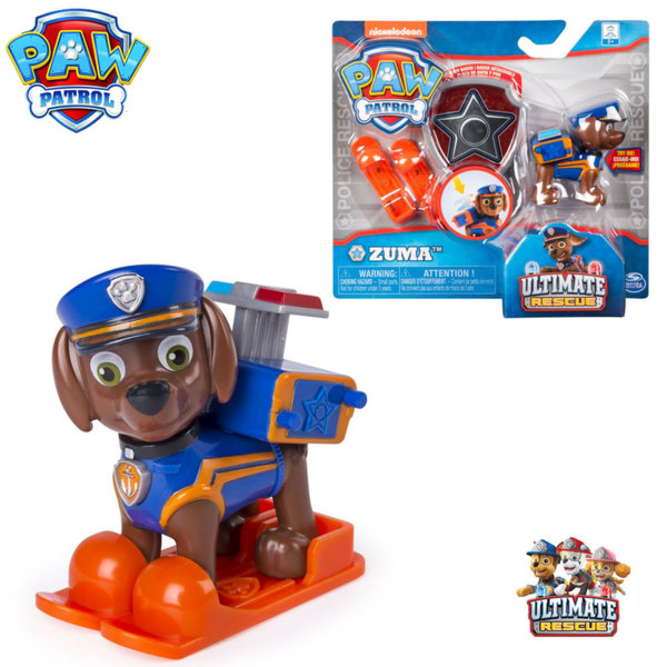 Paw Patrol Кученцето Зума със значка за детето 6046672