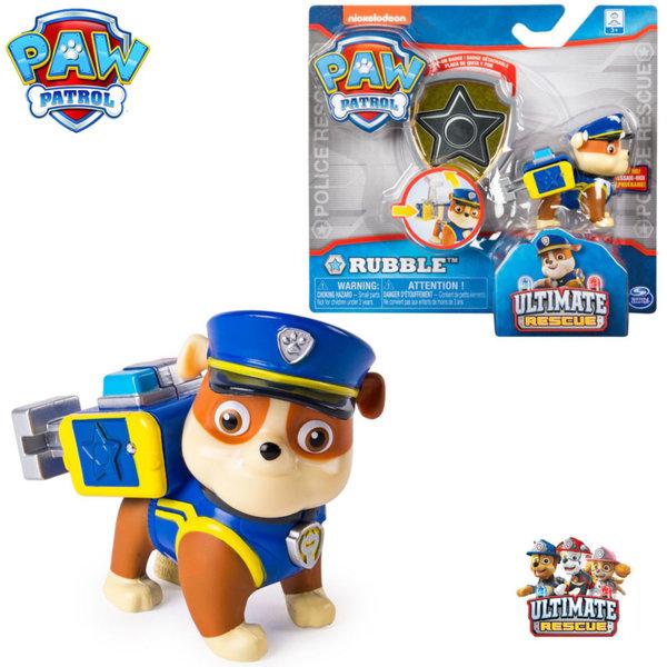Paw Patrol Кученцето Рабъл със значка за детето 6046672