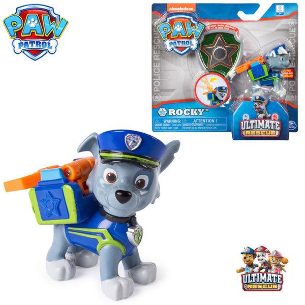 Paw Patrol Кученцето Роки със значка за детето 6046672