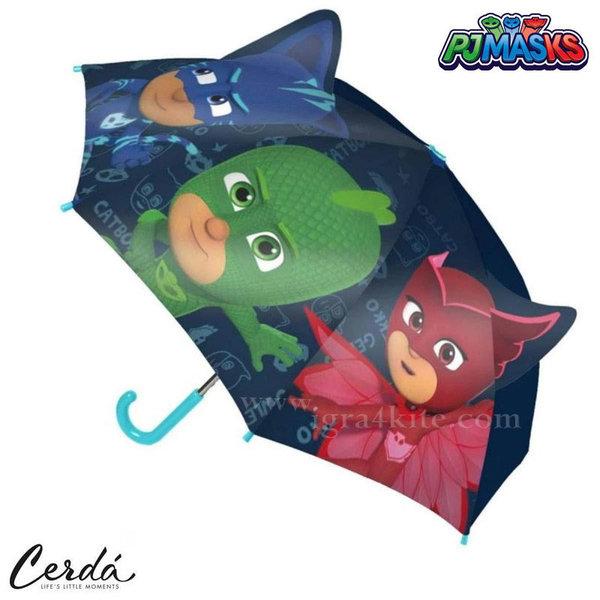 PJ Masks Детски чадър Пижама маски 2400000417-1