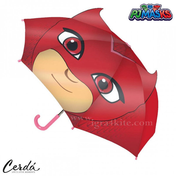 PJ Masks Детски чадър Пижама маски 2400000417-4