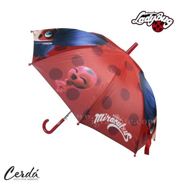 LadyBug Детски автоматичен чадър Калинката и черния котарак 2400000442-4