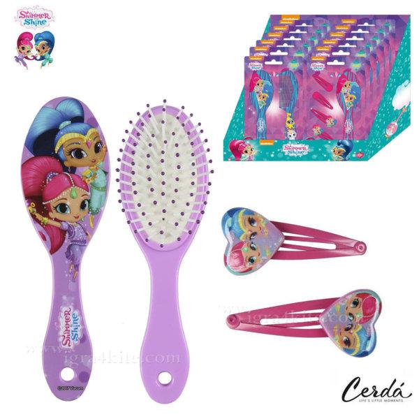 Shimmer and Shine Комплект четка за коса и шноли 2500000978-2