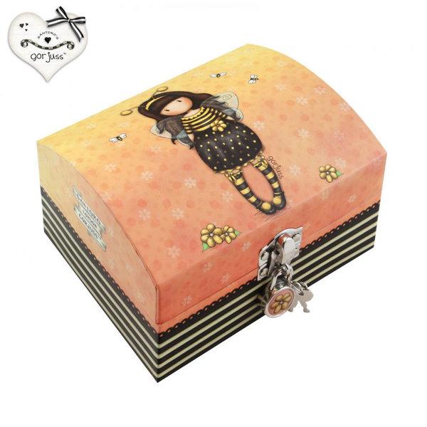Gorjuss Bee Loved Кутия за бижута с ключе 701GJ05