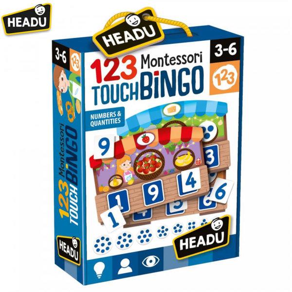 Headu Игра бинго Малък пазар Монтесори 21109