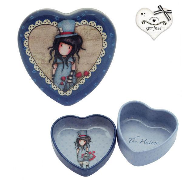 Gorjuss The Hatter Кутия за бижута сърце 578GJ04