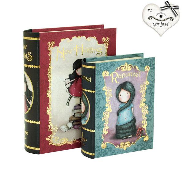 Gorjuss New Heights & Rapunzel Комплект от две декоративни кутии Хроники 411GJ06