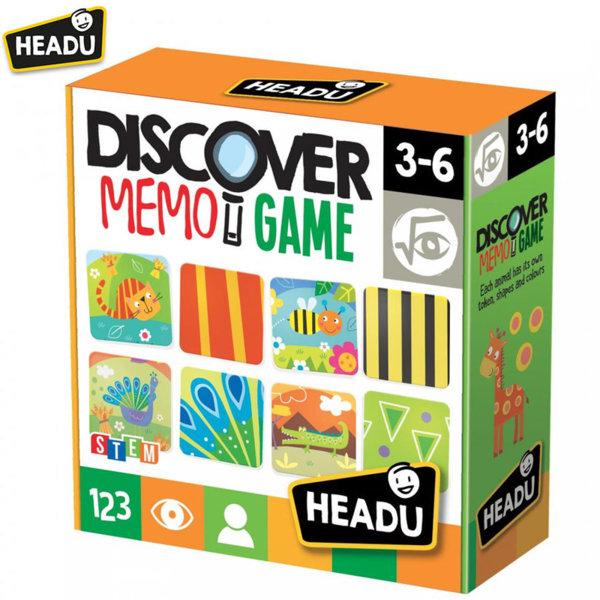 Headu Игра памет Открий и свържи 20713