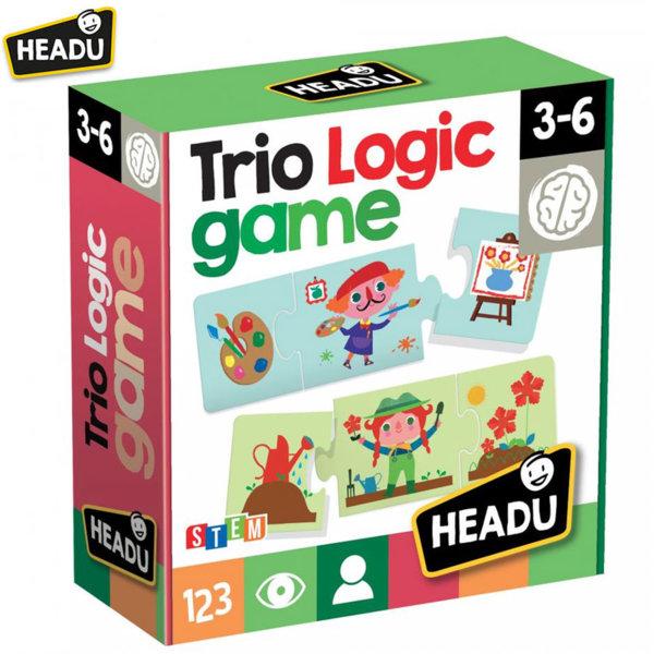 Headu Логическа игра пъзел Трио 20782