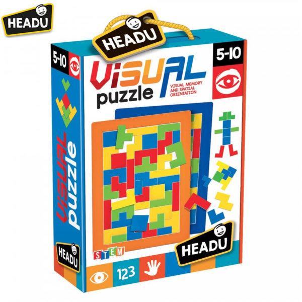 Headu Образователна игра Визуален пъзел 20812