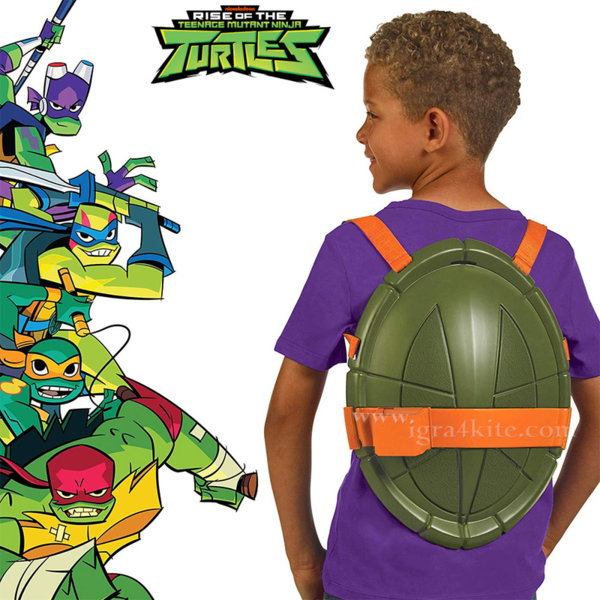 TMNT Костенурките Нинджа Черупка щит Tactical Turtle Shell ROTMNT 82173R