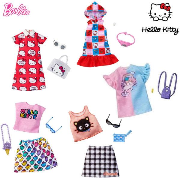 Barbie Hello Kitty Барби Моден тоалет с аксесоари FKR66
