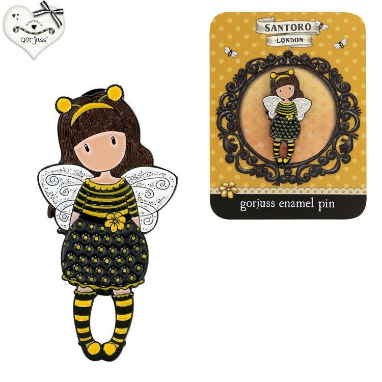 Gorjuss Bee-Loved Брошка 532GJ04