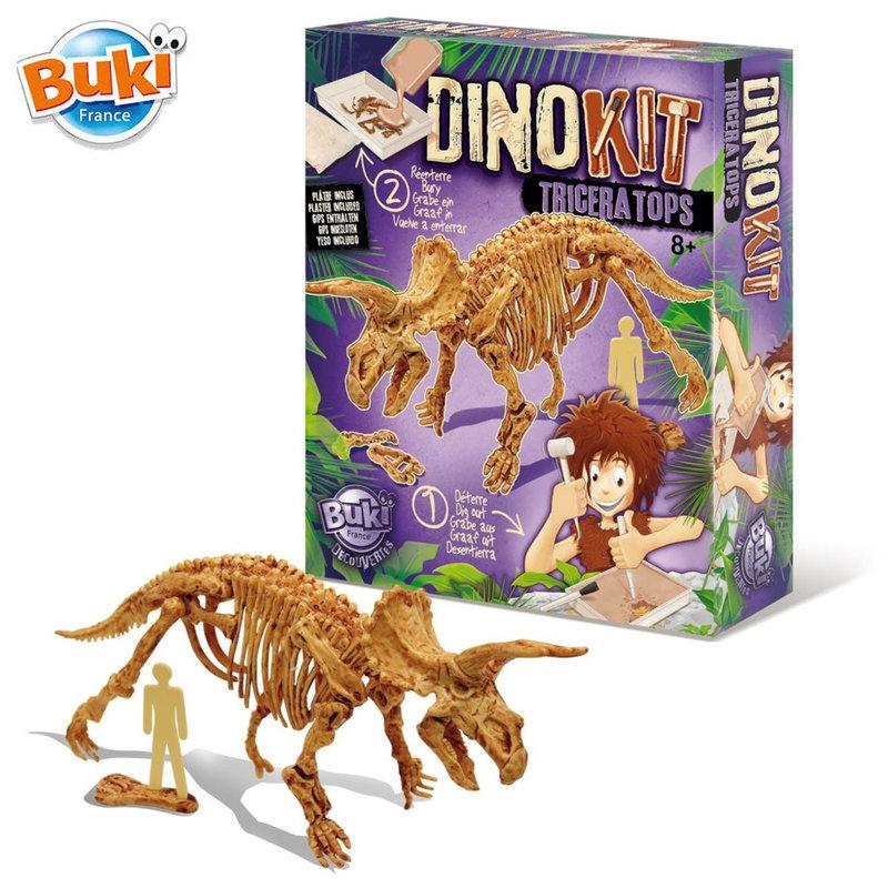 Buki Комплект разкопки динозаври Трицератопс 439TRI