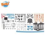 Buki Направи и управлявай хидравличен робот ръка 7505