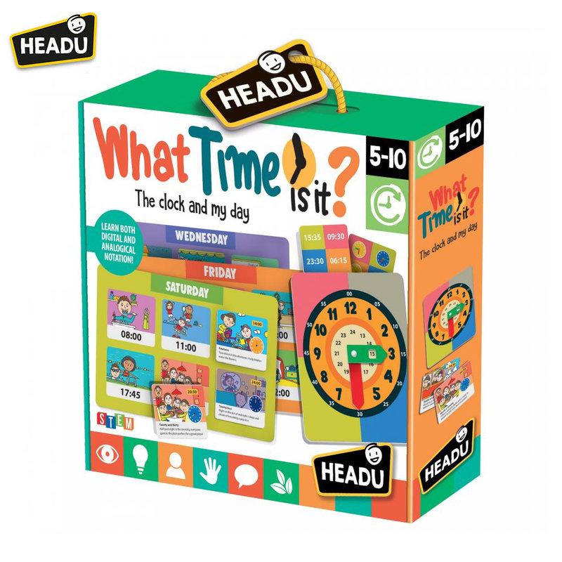 Headu Детска игра Колко е часът 22786