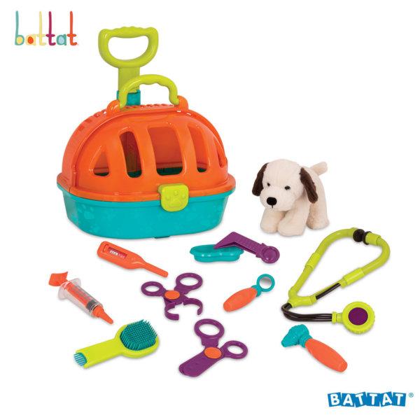 Battat Toys Детски ветеринарен комплект с кученце BT2507Z
