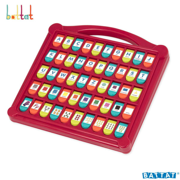 Battat Toys Образователна играчка с букви и цифри BT2532Z
