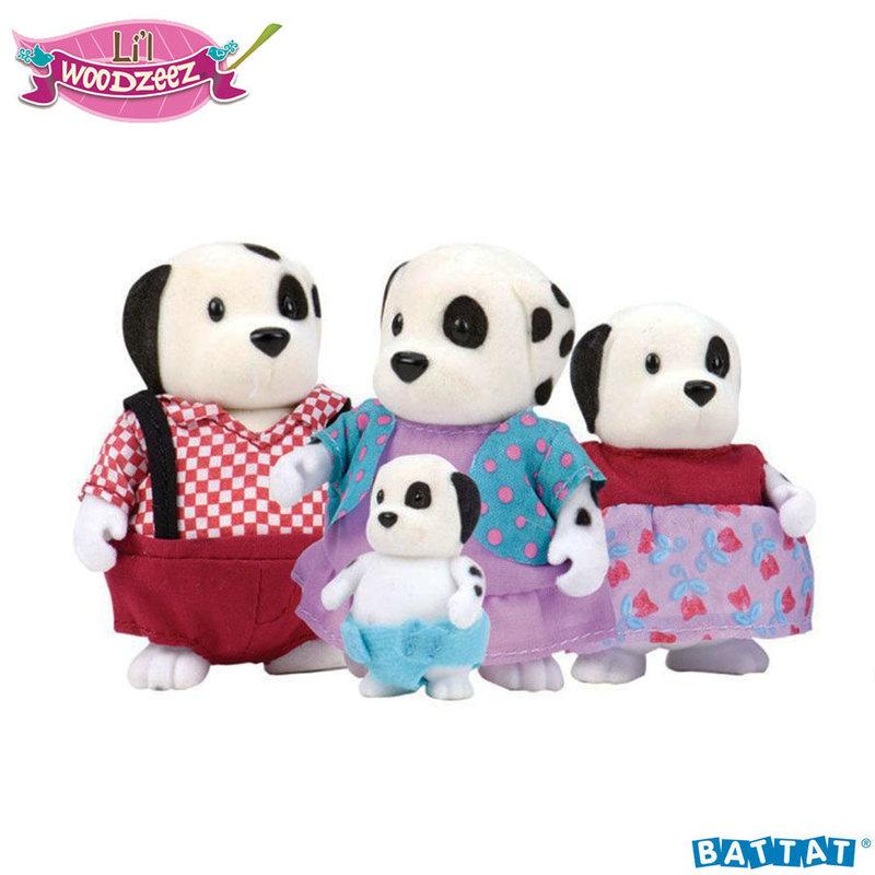 Li'L Woodzeez Семейство Кучета BT6157M