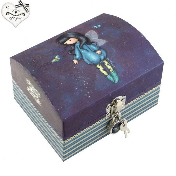 Gorjuss Bubble Fairy Кутия за бижута с ключе 701GJ07