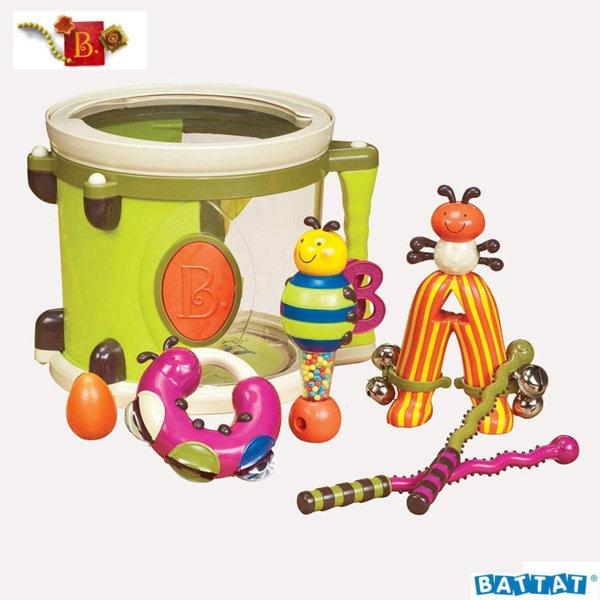 B.Toys Детско барабанче в комплект с музикални инструменти Parum Pum Pum™ BX1007ZCP