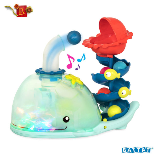 B.Toys Музикален попър Кит с топки Poppity Whale Pop™ BX1607Z