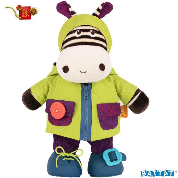 B. Toys Мека играчка за обличане Хипопотам BX1692Z