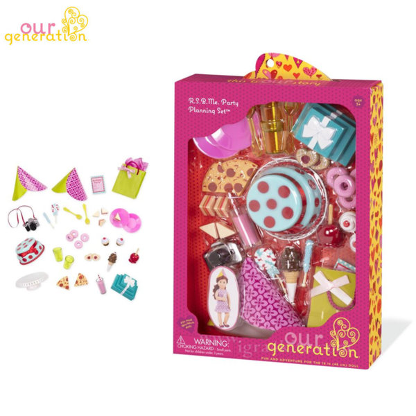 Our Generation Комплект за кукли Парти 37033