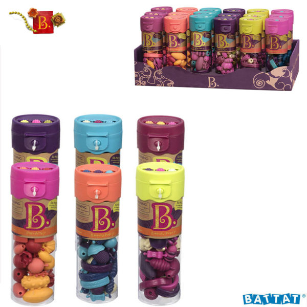B.Toys Комплект цветни мъниста 50 броя BX3138Z