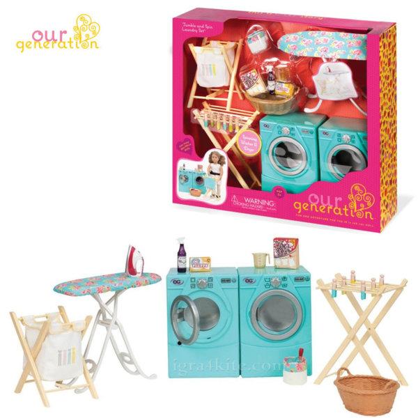 Our Generation Комплект за кукли Пералня със сушилня 37158