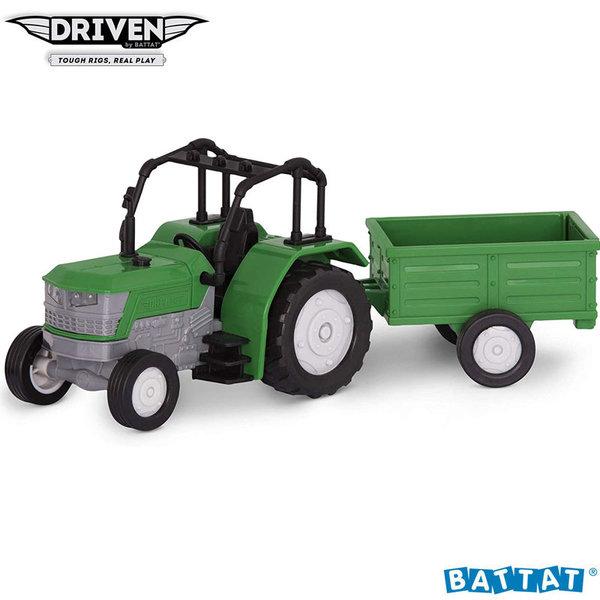Driven Мини трактор с ремарке и звук и светлина WH1071Z