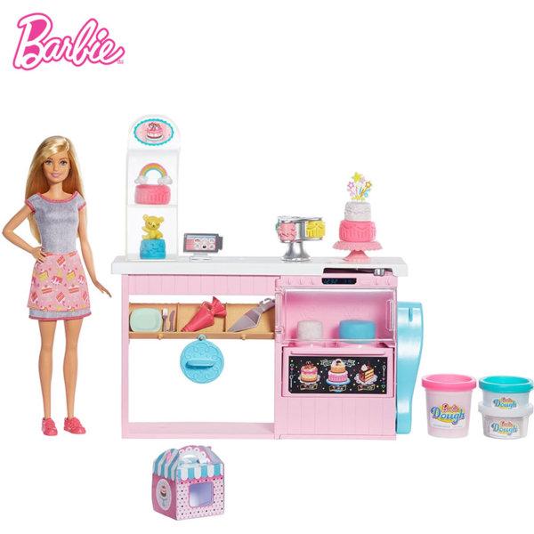 Barbie Барби Kомплект за декорация на торти GFP59