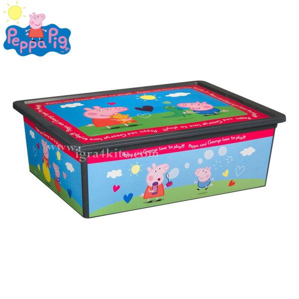 Peppa Pig Кутия за съхранение Пепа Пиг 25л 102030