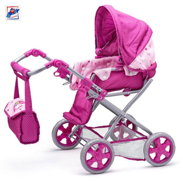 Woody Детска количка за кукли Еднорог 91505
