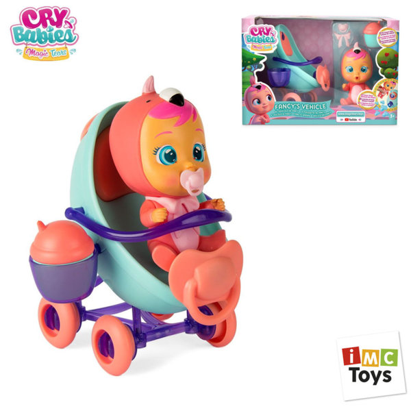 IMC Toys Количката на Fancy мини кукла Crybabies 97957IM
