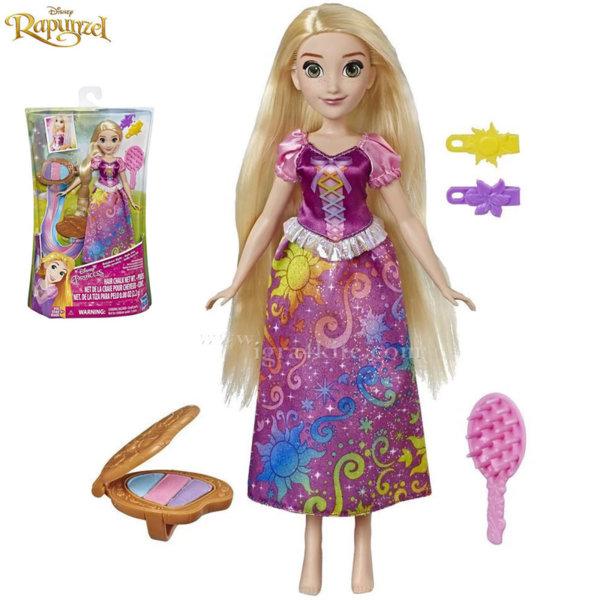 Disney Princess Rapunzel Кукла Рапунцел с коса в цветовете на дъгата E4646