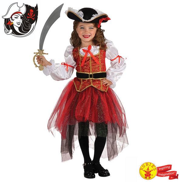 Детски карнавален костюм Пиратка 884563